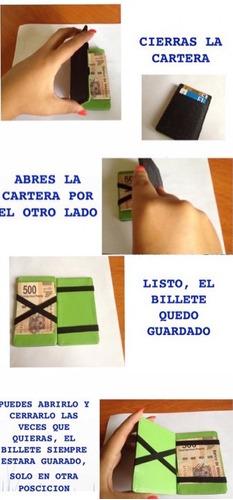 cartera magica con tarjetero magic money clip