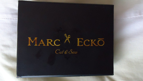 cartera marc ecko color cafe oscuro