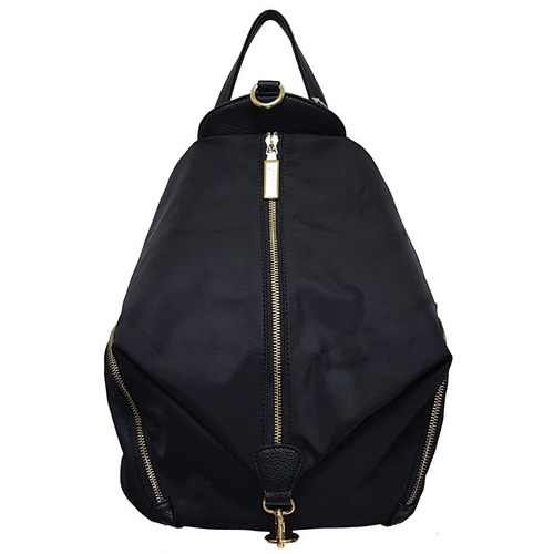 cartera mochila via fina zipper 100% original importada