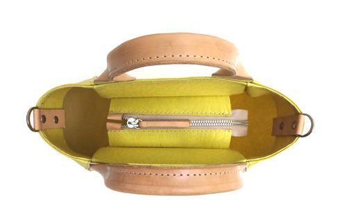 cartera modesta® mini bag arte única eco-friendly - am claro