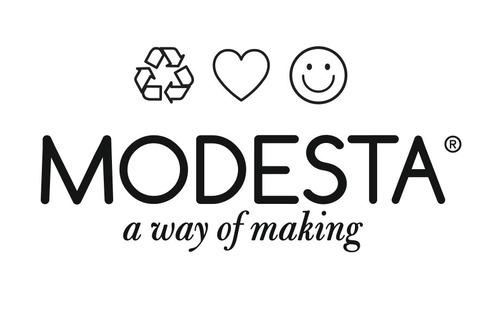 cartera modesta® mini bag arte única reciclada - rosa