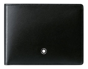 venta minorista bb482 a94e6 Cartera Montblanc Leather Collection Meisterstück