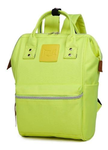 cartera mujer urbana everlast original  mochila color