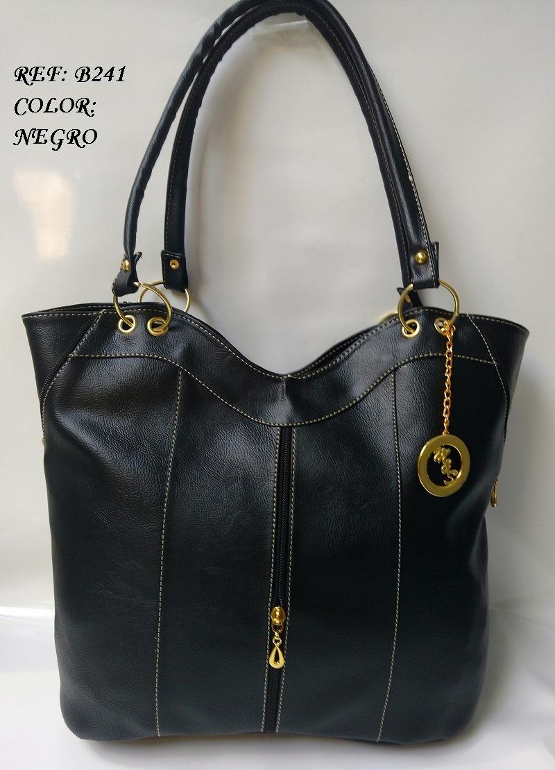a139beac93f cartera negra amplía para mujer bolsos de moda en colombia. Cargando zoom.