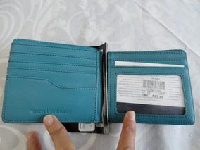 82b5043c8 3 vendidos - Estado De México · Cartera Nixon Showoff Bi Fold Gris Con Azul  Nueva Original