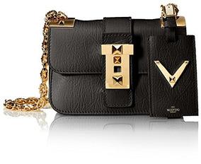 Chain Bolso StrapBlack Mujer Cartera O Valentino Shoulder R34Aj5Lq