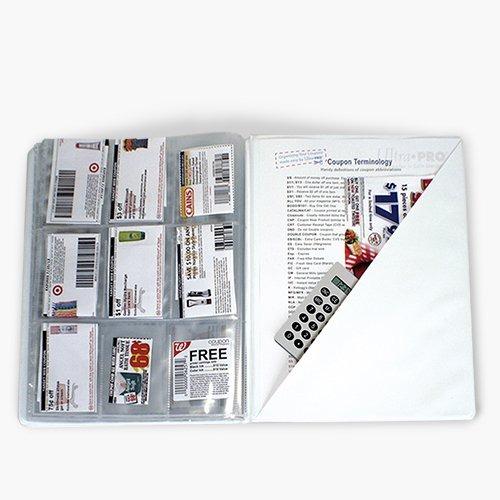 6 Bolsillo páginas de cupón Organizador 20