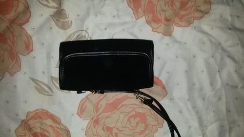 cartera para dama en color negro