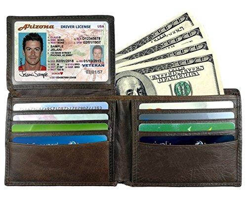 d4bcbd3e5 Cartera Para Hombre - Billetera Plegable De Cuero... - $ 38.990 en Mercado  Libre