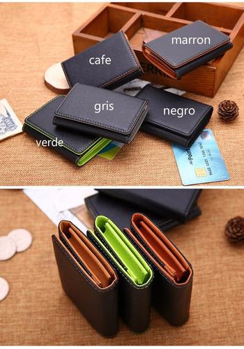 cartera para tarjeta