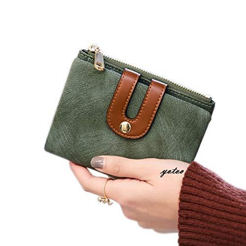 ee04b953d39 Cartera Pequeña Para Mujer Con Bolsillo Para Monedas Suave -   118.990 en  Mercado Libre