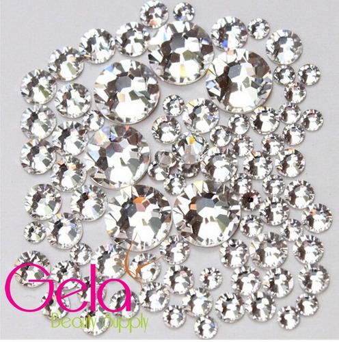 cartera piedra #16 100% cristal decoracion uñas con envio