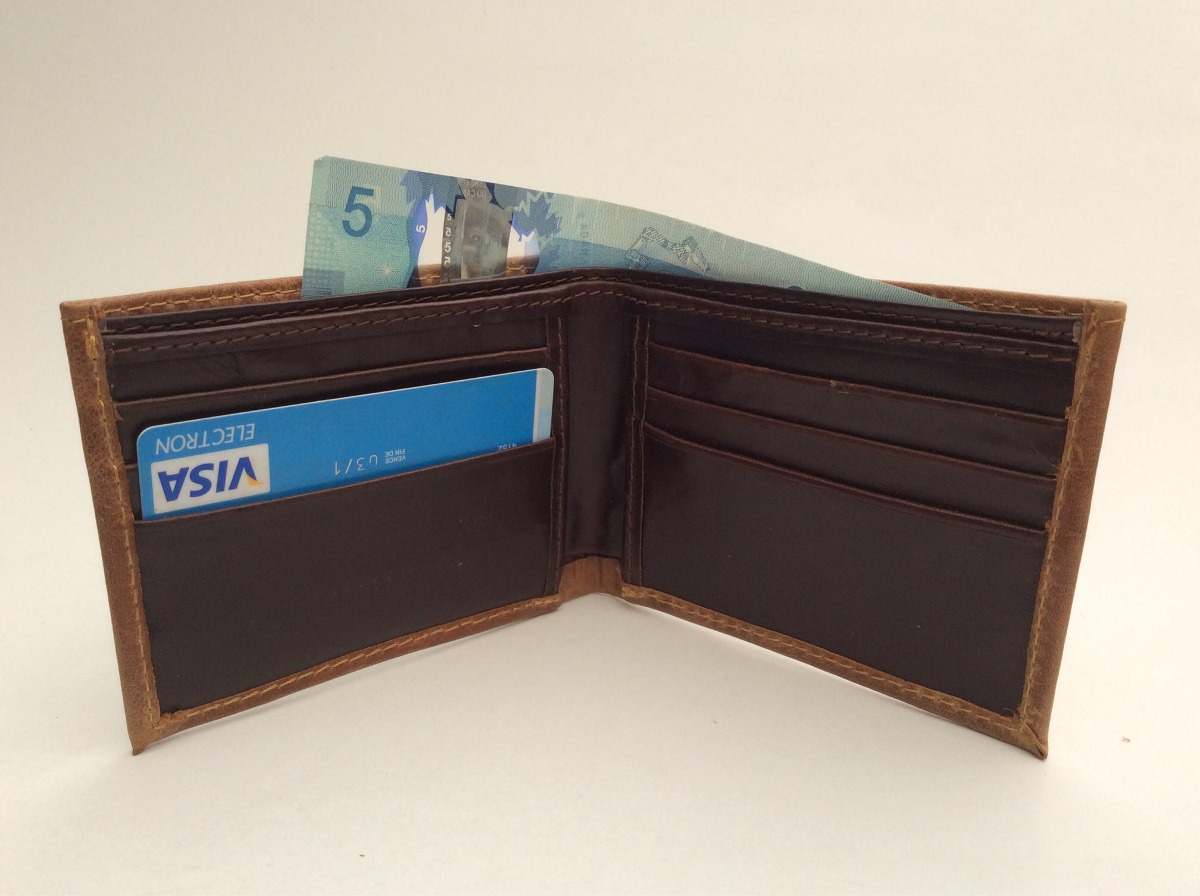 a2f8896fb Cartera Piel Hombre 6 X $654 Estilo Slim Fit - $ 654.00 en Mercado Libre