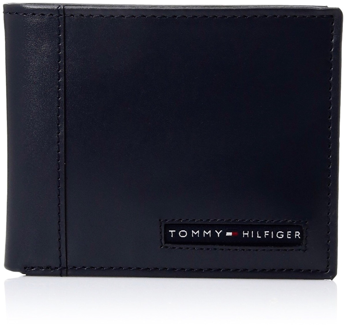 746573af5 Cartera Piel Tommy Hilfiger Navy - $ 999.00 en Mercado Libre