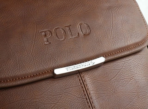 cartera portafolio nuevo diseño polo para caballero (negra)