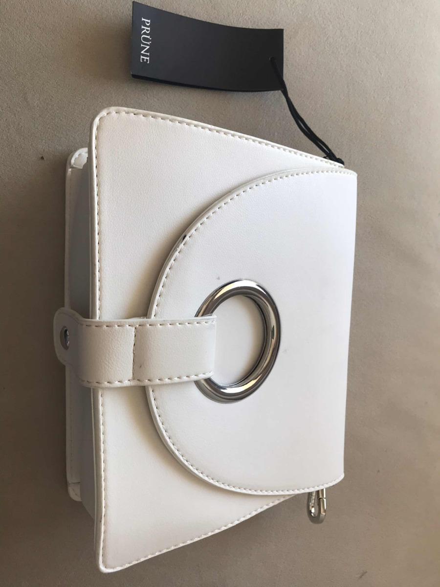 a43eb9a4a Cartera Prune Blanca Nueva Con Etiqueta Verano - $ 700,00 en Mercado ...