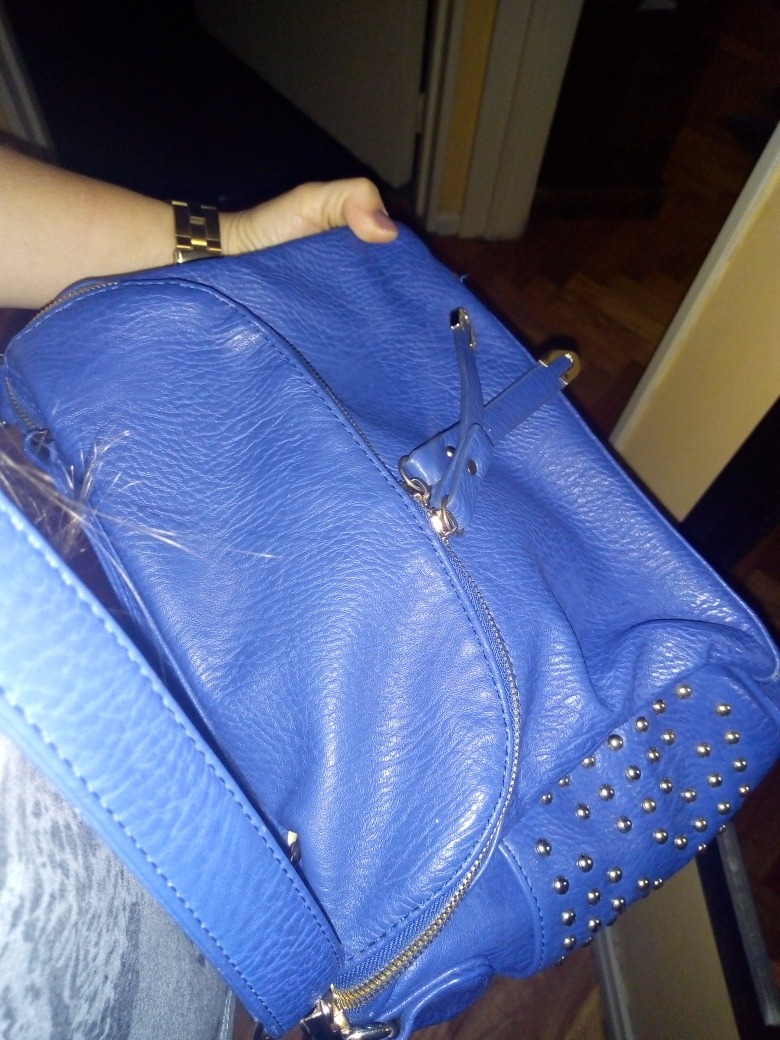 4904a4784 Cartera Prune Original Usada Impecable Color Azul - $ 575,00 en ...