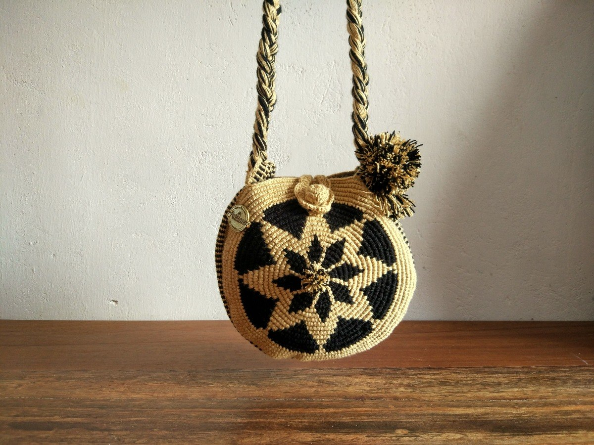 Cartera Redonda Crochet San Jacinto | Mi Artesano - $ 130.000 en ...