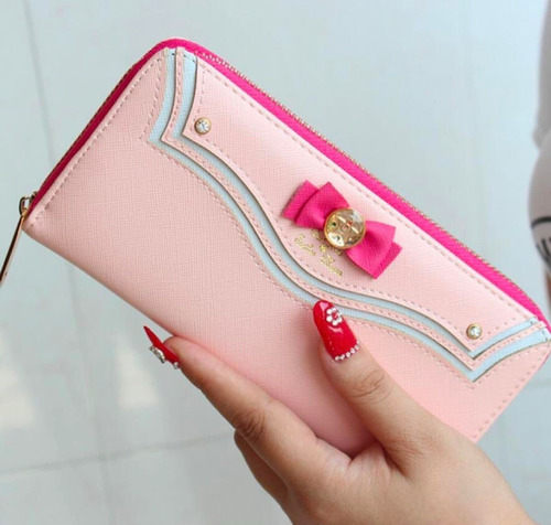 cartera sailor moon monedero serena cute rosa envio gratis
