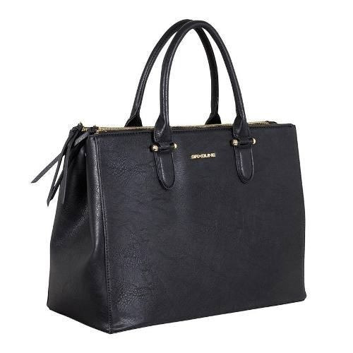 cartera saxoline office tote 697 negro