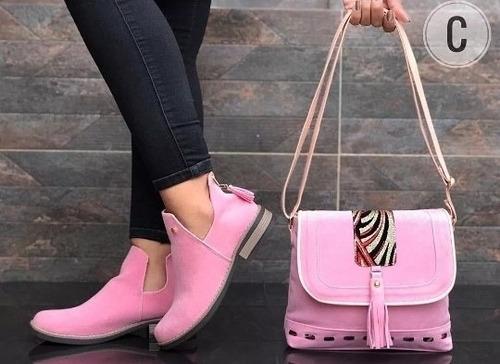 cartera .. set de zapato y cartera dama