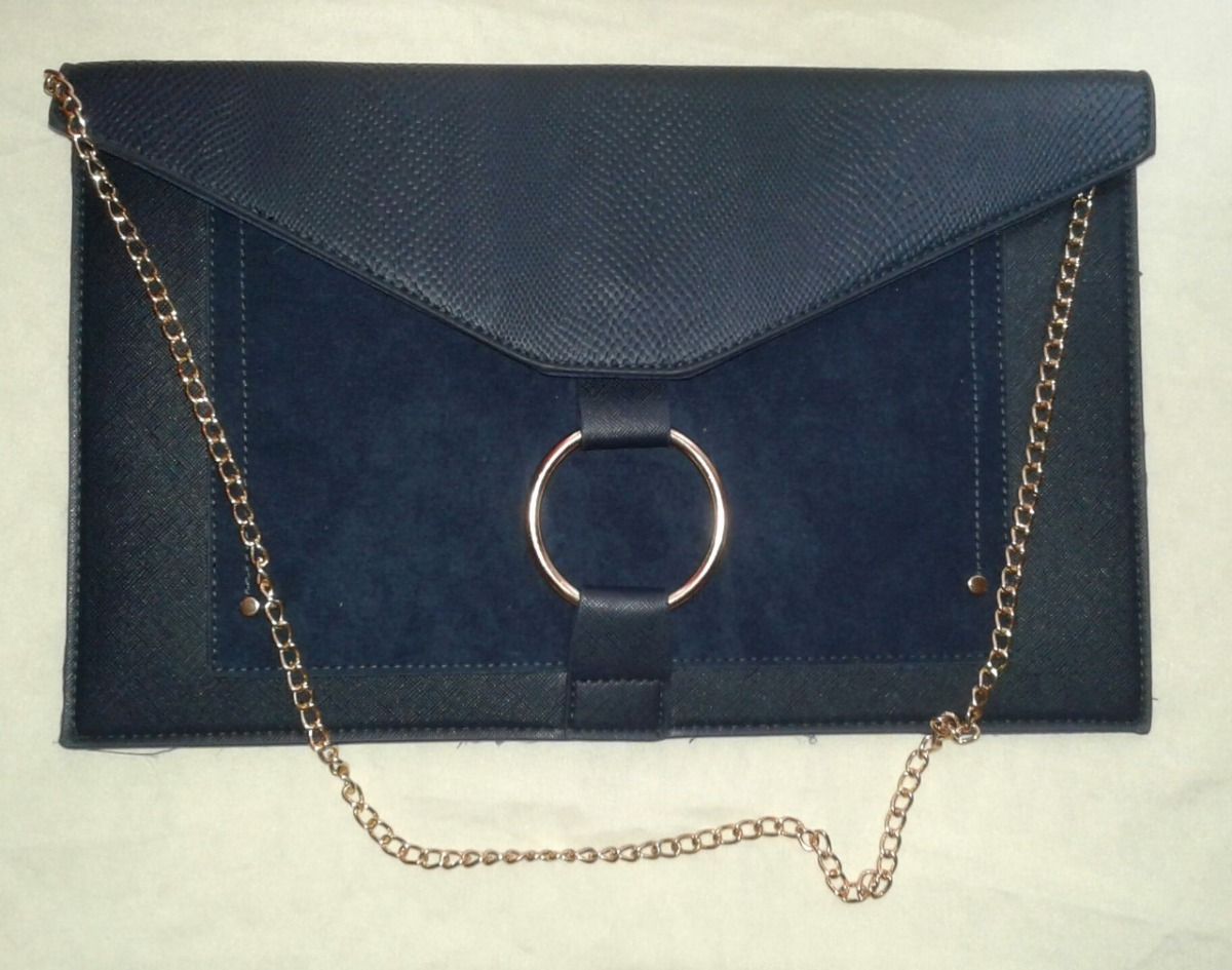 e0ebc9bcb Cartera-sobre Azul - $ 400,00 en Mercado Libre