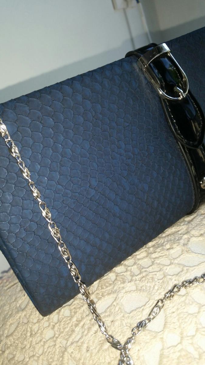 14fc5d872 Cartera Sobre Azul Con Negro - $ 280,00 en Mercado Libre