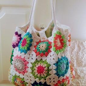 893b26690 Carteras Tejidas Crochet Infantiles - Equipaje, Bolsos y Carteras Blanco en  Mercado Libre Argentina