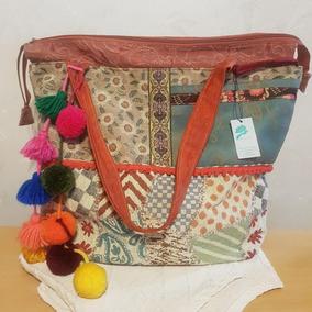 5424413a4 Bolso Tela Artesanal Mujer - Equipaje, Bolsos y Carteras en Mercado Libre  Argentina