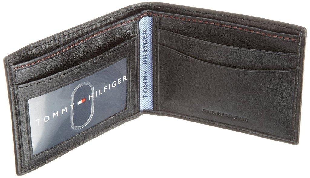 e23059ee88c cartera tommy hilfiger oxferd en color negro original piel. Cargando zoom.