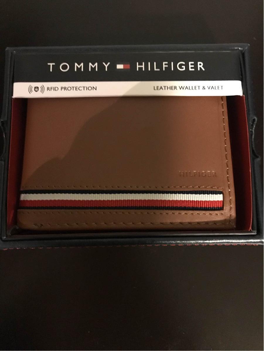 4f8e600fab9 Cartera Tommy Hilfiger Para Hombre -   599.00 en Mercado Libre