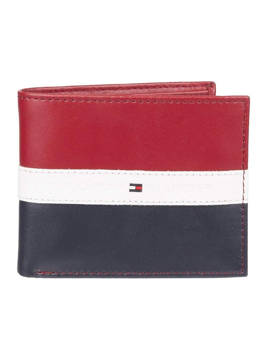 a722f9d6cfe cartera tommy hilfiger para hombre bandera azul rojo blanco. Cargando zoom.