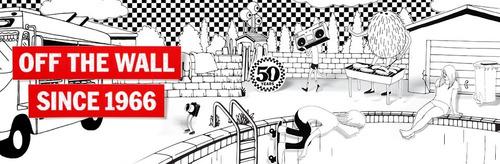 ac028fd8ff9c6 Cartera Vans Off The Wall -   600.00 en Mercado Libre