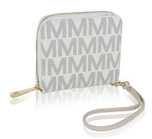 cartera wristlet mkf coleccion bismarlyn firma milan m