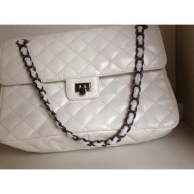 6ce0b5842 Cartera Chanel Clasica - Carteras Blanco en Mercado Libre Argentina