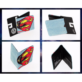 729e2ea1e Cartera Original Bioworld Azul Celeste Dc Comics Superman