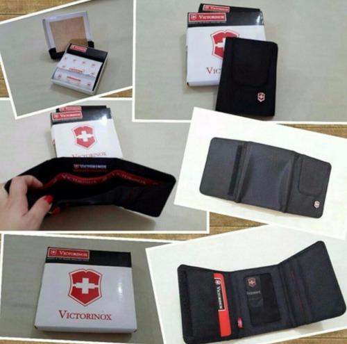 carteras billeteras victorinox caballero mayor y detal
