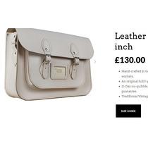 Cartera Bolson 100% Cuero The Leather Satchel Company Uk