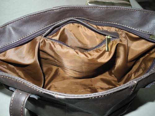 carteras bolsos en cuero ecologico