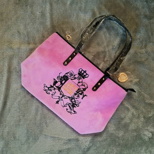 carteras bolsos tote grande juicy couture