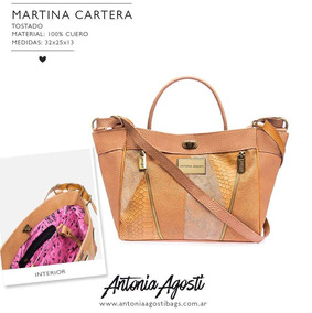 6bd23ba4 Moldes Para Carteras De Cuero - Carteras Antonia Agosti de Cuero ...