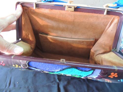 carteras de cuero vintage remodeladas