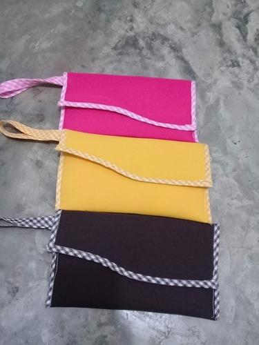 carteras de tergal/manta bondeado listo para pintar