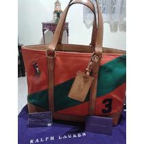 Cartera Ralph Lauren Polo Original 100% De Coleccion