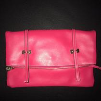 Cartera Sobre 2 En 1 Un Clutch (sobre) Bandolera Color Pink