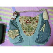Cartera De Jeans De Dama Nueva Via Moda