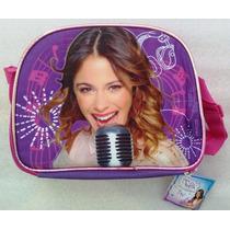 Violetta Disney Lonchera C/brillo Escarchado Envases Orig