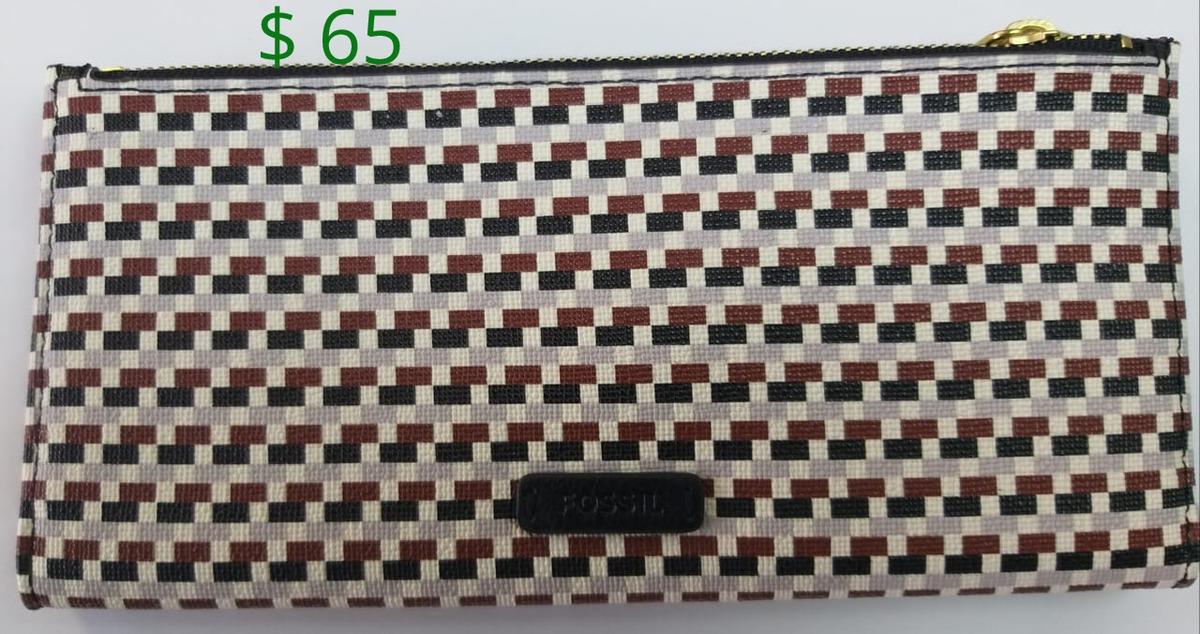 0c110b475 Carteras Para Mujer Fossil Originales 65 Dolares - U$S 65,00 en Mercado  Libre