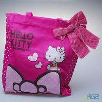 Bolso Hello Kitty Cartera Tela Impermeable +4 Compartimiento