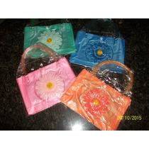 Bolso Playero De Plastico Varios Colores Para Niñas Nuevos..